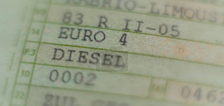 Car license Passenger cars, diesel Euro 4 hits the ban, car worthless by the diesel scandal in Germany