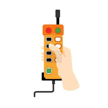 Photo for Lift remote control icon. Flat illustration of lift remote control vector icon for web design - Royalty Free Image