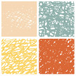 Abstract background in color. Vector watercolor im...