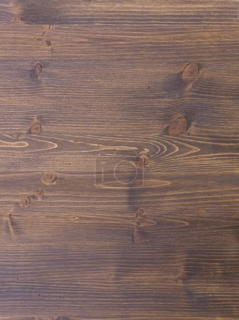 Photo for Carpentry template with brown wooden texture - Royalty Free Image