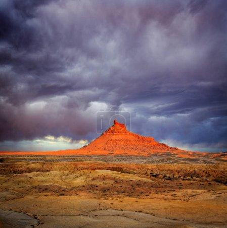 Spring morning light in the Utah desert, USA.