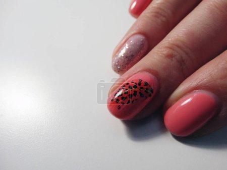 Photo pour Nail Art Studio manucure - image libre de droit
