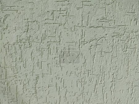 Photo for Green Plaster Wall Material - Royalty Free Image