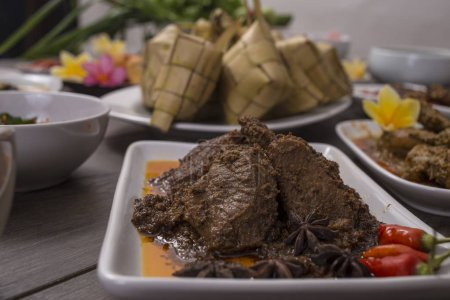 Photo for Various Indonesian food and culinary - Royalty Free Image
