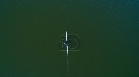 Aerial view of Rower