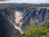 "Постер, картина, фотообои ""Красивые Руакана падает на границе Намибии и Ботсване."""