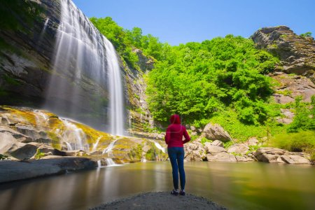 Suuctu waterfalls in Mustafa Kemal Pasa, Bursa, Tu...