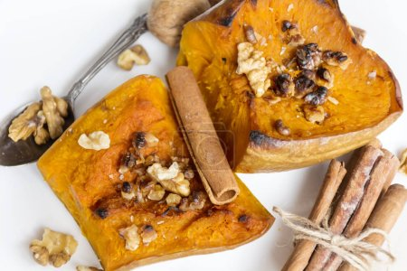 Photo for Traditional appetizing Pumpkin Dessert - Royalty Free Image