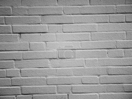 White brick wall on background,close up