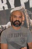 MANNHEIM, GERMANY - MAR 17th 2018: Khary Payton (*1972, actor, Ezekiel on The Walking Dead) at Walker Stalker Germany, a two day convention for fans of The Walking Dead