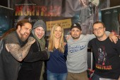 DORTMUND, GERMANY - November 3rd 2018: Montrak - Martin Kesici, Florian Freiberger, Nadine Petry, Stefan Schwenk, Tobias Lehnert at Weekend of Hell 2018, a two day (November 3-4 2018) horror-themed fan convention.