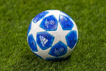 MOSCOW, RUSSIA - , 02.10.2018: The UEFA Champions ...