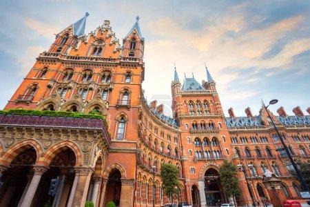Station St Pancras à Londres, Royaume-Uni