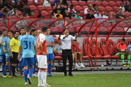 Kallang-Singapore-26Jul2018:Diego simeone head coa...
