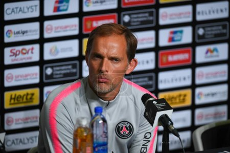 Kallang-Singapore-30Jul2018:Thomas tuchel head coa...