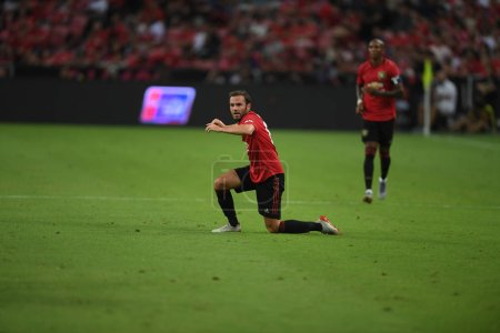 Kallang-singapore-20jul2019:Juan mata #8 player of...