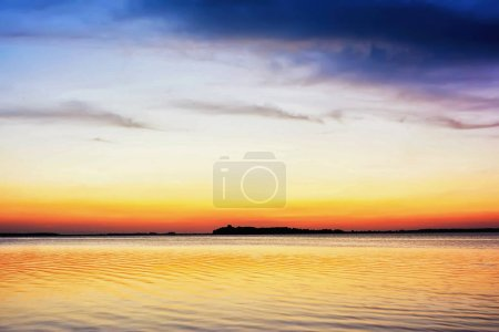 Photo for Twilight on the lake. - Royalty Free Image