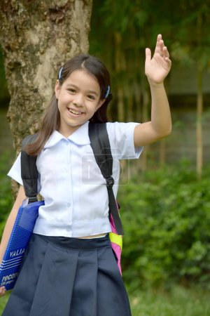 Amical jeune Philippine personne