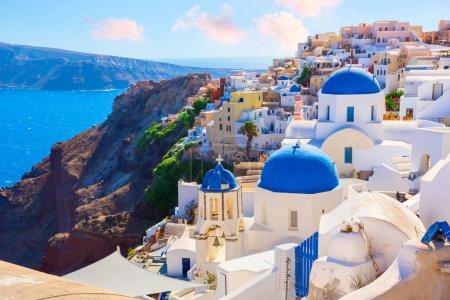 Santorini island Greece Oia town