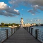 Orlando, Florida. October 11, 2019. Panoramic view...