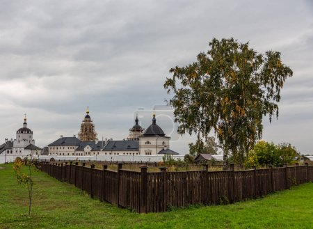 View of the Church of St. Nicholas and the Wonderworker in the city-museum Sviyazhsk