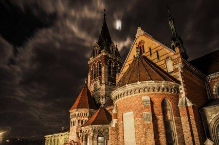Night. Church of St. Stanislaus
