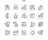 Diet Well-crafted Pixel Perfect Vector Thin Line Icons 30 2x Grid for Web Graphics and Apps Simple Minimal Pictogram