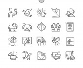 Origami Well-crafted Pixel Perfect Vector Thin Line Icons 30 2x Grid for Web Graphics and Apps Simple Minimal Pictogram