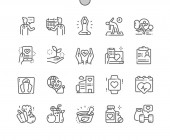 Global Health Care Well-crafted Pixel Perfect Vector Thin Line Icons 30 2x Grid for Web Graphics and Apps Simple Minimal Pictogram