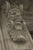 Corbel Face with Key