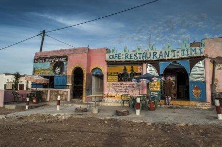 Jimi Hendrix cafe Diabat Essaouira