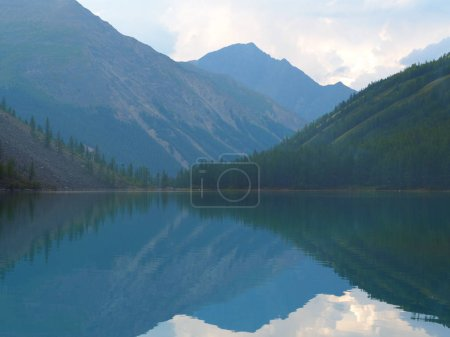 picturesque view of lake at Altai Mountains, Russia