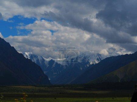 breathtaking view of Altai Mountains