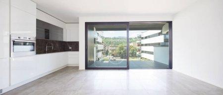 Interiors of modern apartment, nobody inside...