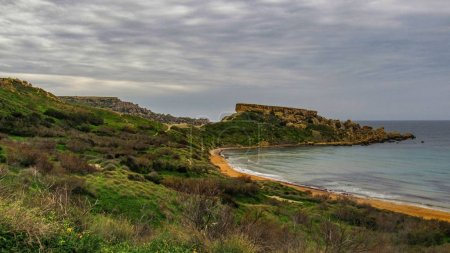 mgarr, malta, panorama, gnejna bay, golden bay, beautiful, beaches, colorful, sky, golden rocks, ta lippija, ghajn, tuffieha, bay, gnejna, tower, qarraba, majestic, secret, hidden, beach, reviera, watchtower, magical, scenic, famous, natural, epic, d
