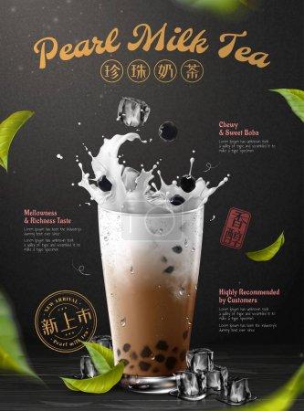 Boba-Tee-Werbung