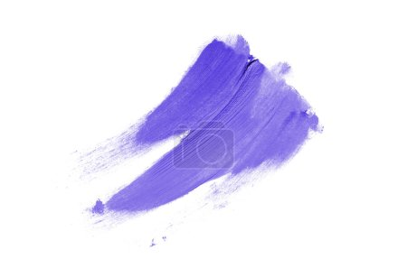 Smear and texture of lipstick or acrylic paint iso...