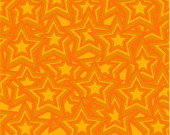 abstract orange background consisting of orange stars