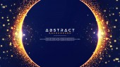 Abstract background with a combination of blur bokeh effects Abstract Glowing particle circle background Eps10 vector illustration