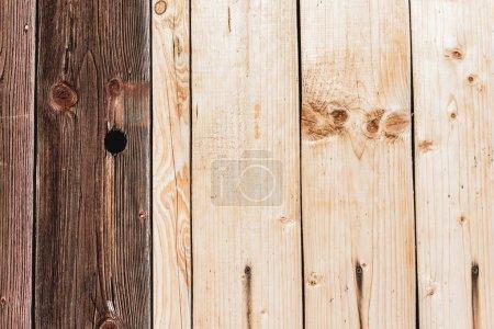 tablones de madera con textura beige y marrón oscuro con espacio para copias