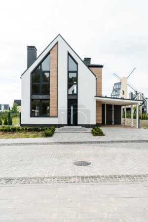 Photo for New modern and luxury home with windows and doors - Royalty Free Image