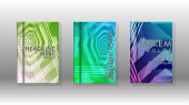 Cover book colorful hexagon abstract background