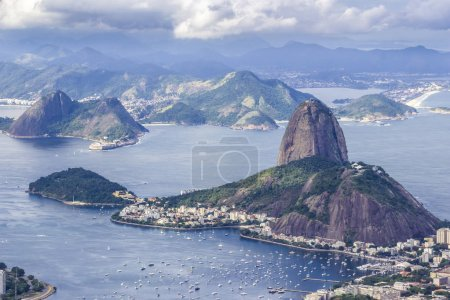 Views from Christ The Redeem mountain over Sugar L...