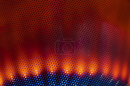 Photo for Seamless orange and blue dotted pattern - Royalty Free Image