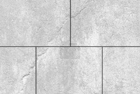 White stone wall tile seamless background