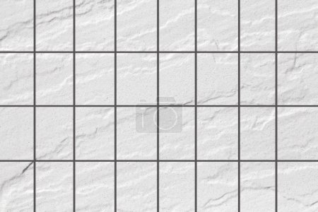 Outdoor white stone tile floor seamless background