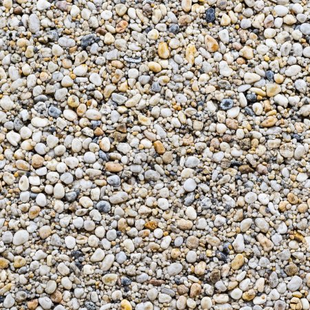 gravel floor texture and background