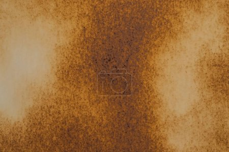 Rusty metal plate texture and background