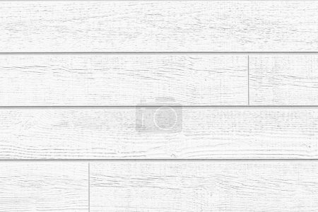 Photo for White wood fence texture and background - Royalty Free Image
