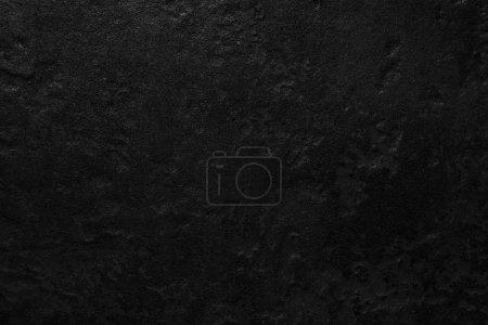 Photo pour Texture et fond en pierre noire naturelle - image libre de droit